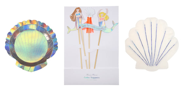 Let's Be Mermaids Cake Toppers | Pop Roc Parties