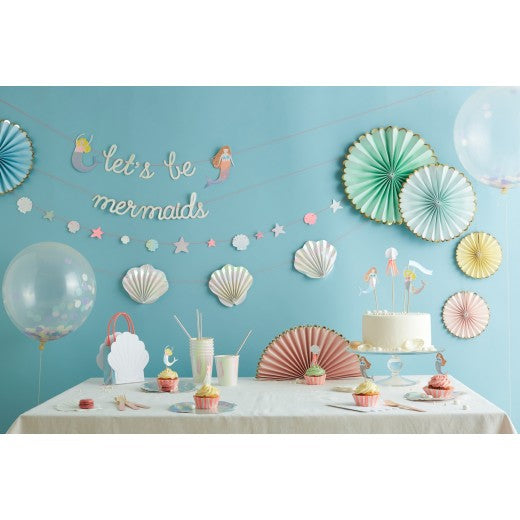 Let's Be Mermaids Garland | Pop Roc Parties