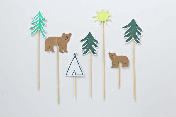 Let's Explore! Cake Toppers