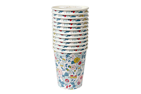 Liberty Betsy Floral Party Cups