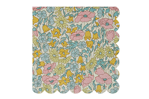 Poppy & Daisy Floral Party Napkins