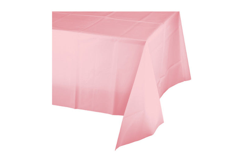 Light Pink Plastic Table Cover | Pop Roc Parties