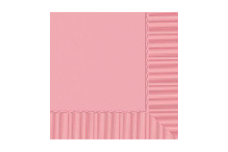 Light Pink Beverage Paper Napkins | Pop Roc Parties