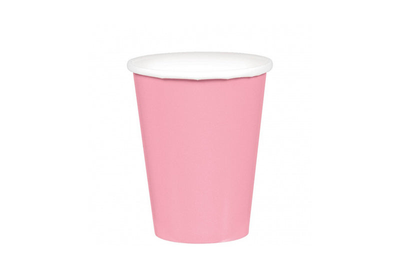 Light Pink Paper Cups | Pop Roc Parties
