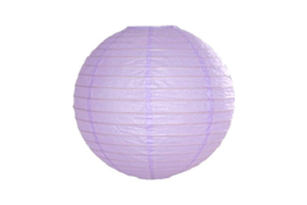 Lilac Mini Round Paper Lanterns - Pop Roc Parties