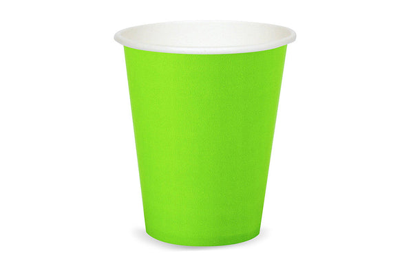 Lime Paper Cups - Pop Roc Parties