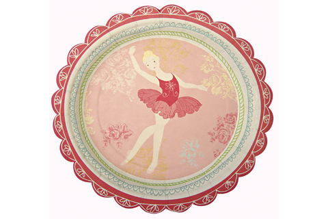 Little Dancers Party Plate