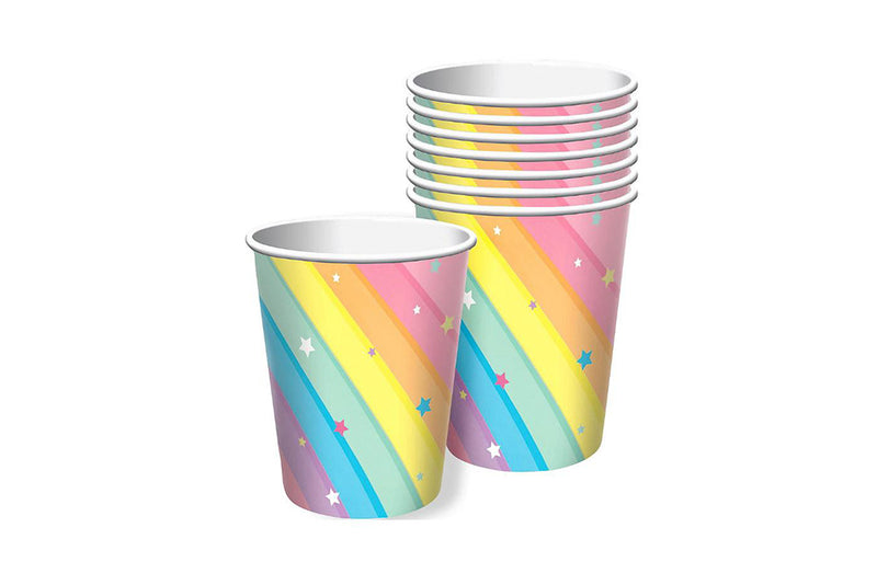 Magical Rainbow Party Cups | Pop Roc Parties