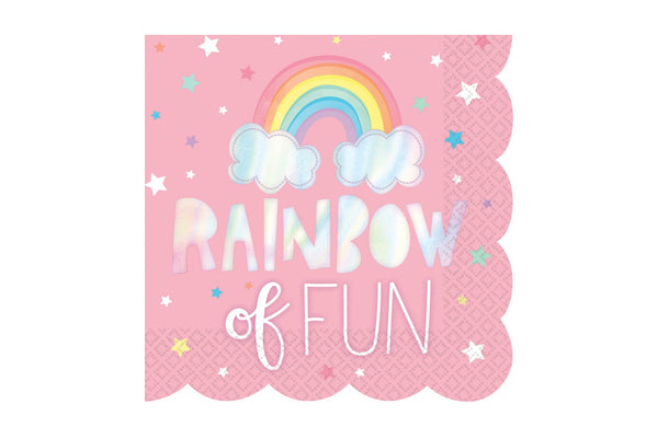 Magical Rainbow Napkins | Pop Roc Parties