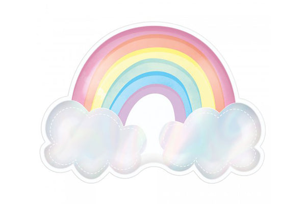 Magical Rainbow Plates | Pop Roc Parties