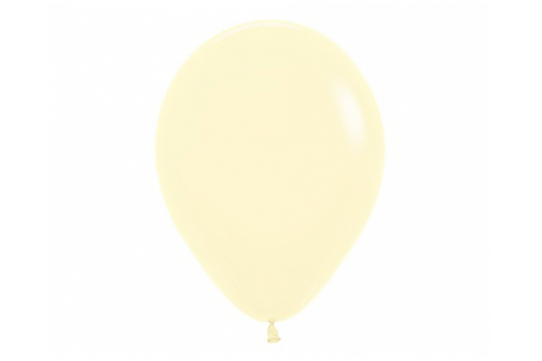 Yellow Pastel Matte Balloon | Pop Roc Parties