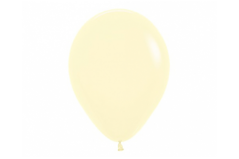 Matte Yellow Pastel Balloon Pack | Pop Roc Parties
