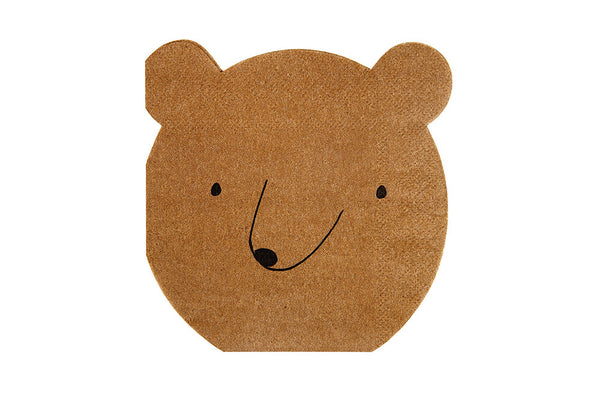 Let's Explore! Bear Napkins - Pop Roc Parties