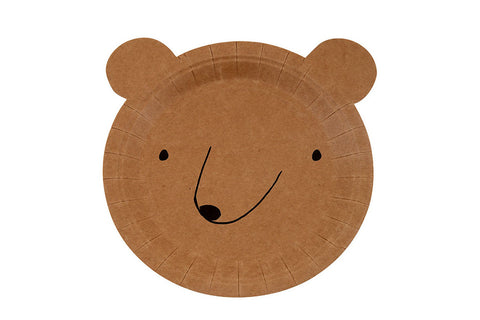 Let's Explore! Bear Plates