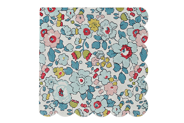 Liberty Betsy Floral Party Napkins - Pop Roc Parties