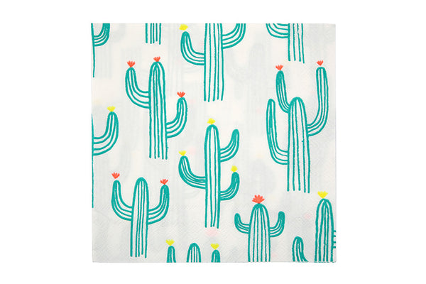 Meri Meri Cactus Napkins - Pop Roc Parties