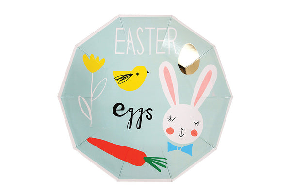 Easter Eggs Plates - Pop Roc Parties