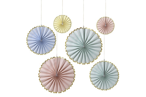 Pastel Pinwheel Decorations - Pop Roc Parties