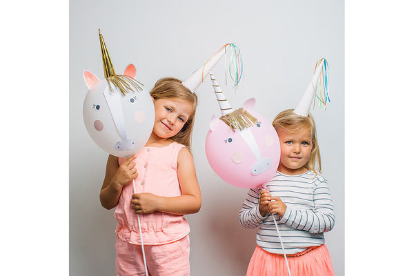 Meri Meri Unicorn Balloon Kit - Pop Roc Parties
