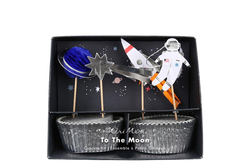 To the Moon Cupcake Kit | Pop Roc Parties
