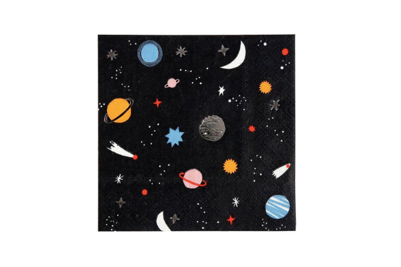 To the Moon Napkins | Pop Roc Parties
