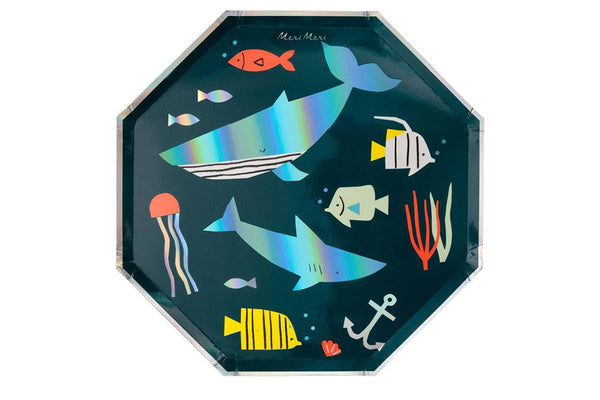 Under the Sea Dinner Plates | Pop Roc Parties