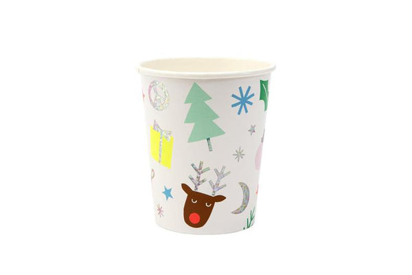 Meri Meri Festive Fun Party Cups | Pop Roc Parties