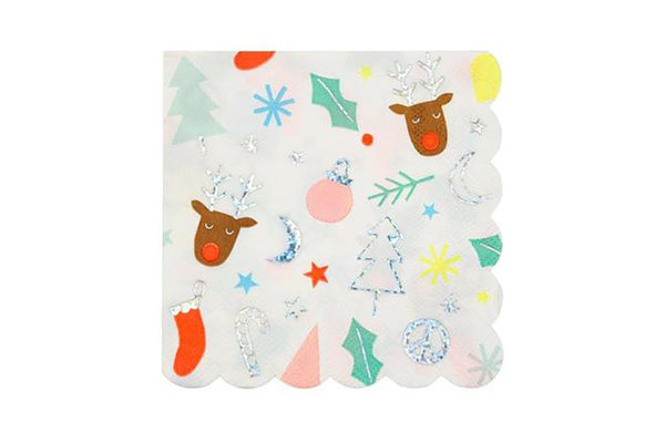 Meri Meri Festive Fun Napkins | Pop Roc Parties