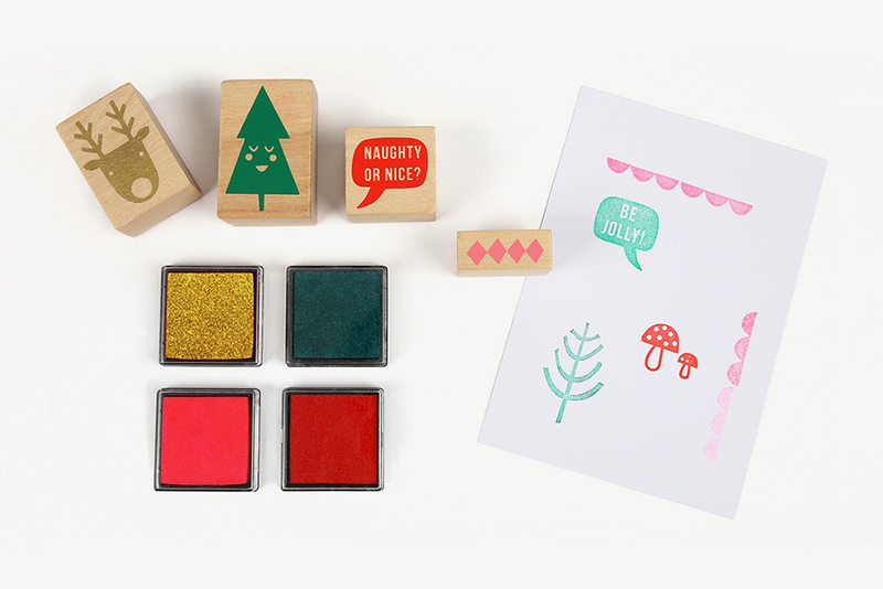 Meri Meri Jolly Rubber Stamp Set | Pop Roc Parties