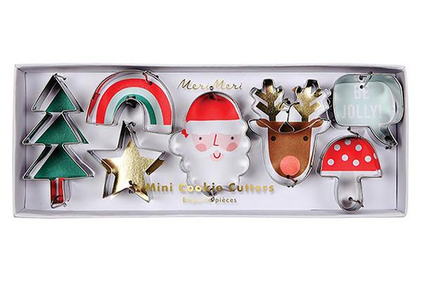 Meri Meri Mini Christmas Cookie Cutters | Pop Roc Parties