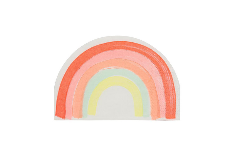 Meri Meri Rainbow Napkins | Pop Roc Parties