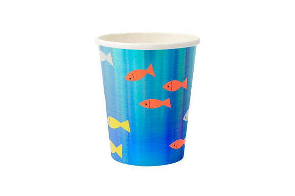 Under the Sea Party Cups | Pop Roc Parties