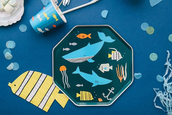 Under the Sea Fish Napkins | Pop Roc Parties