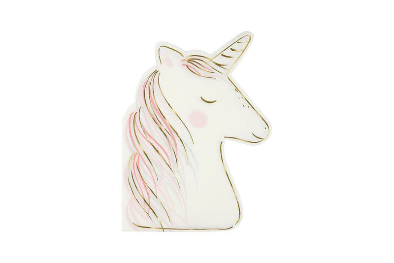 Meri Meri Unicorn Napkins | Pop Roc Parties