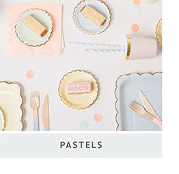 Meri Meri Pastel Party Small Plates