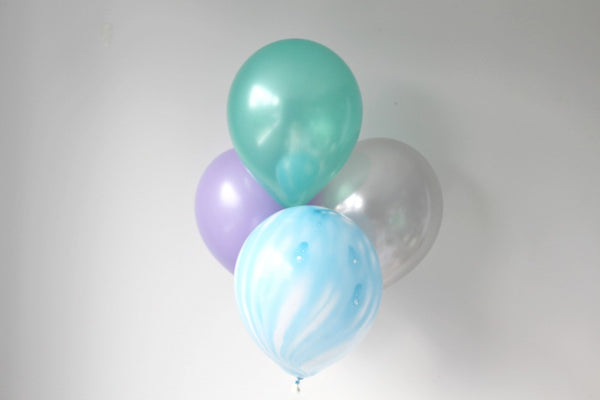 Mermaid Mix Balloon Pack - Pop Roc Parties