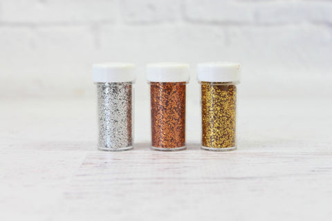 Metallic Silver Glitter - Pop Roc Parties