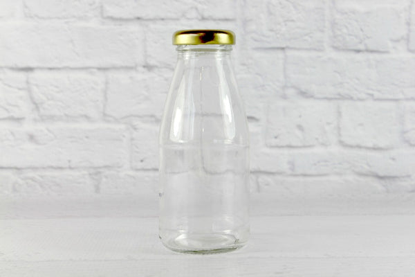 Gold Lids for New Mini Milk Bottles - Pop Roc Parties