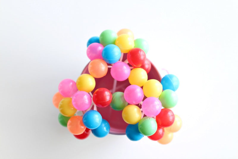 Colourful Mini Balloon Toppers | Pop Roc Parties