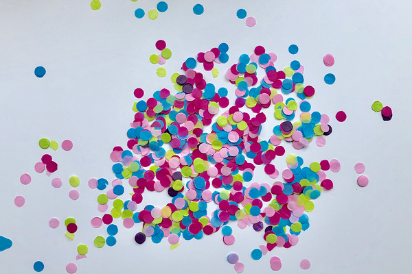 Mini Bright Confetti Dots | Pop Roc Parties