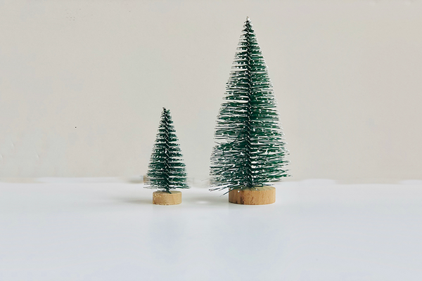 Mini Green Bristle Trees | Pop Roc Parties