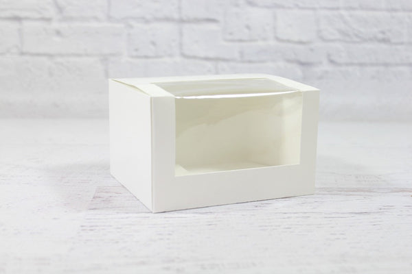 White Mini Patisserie Window Box | Pop Roc Parties