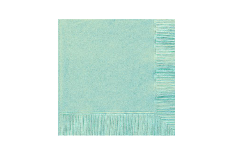 Mint Beverage Napkins (50 pack) | Pop Roc Parties
