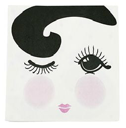 Miss Etoile Winking Eye Napkins | Pop Roc Parties