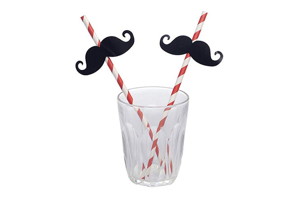 Moustache Paper Straws | Pop Roc Parties