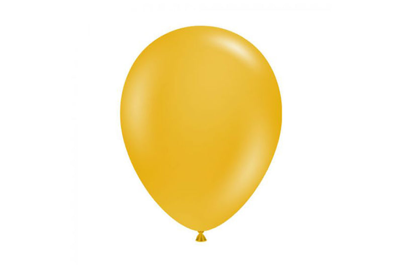 Mustard Balloon Pack-Pop Roc Parties