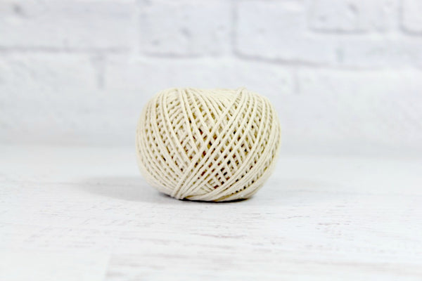 Ball of Natural Cotton Twine - Pop Roc Parties