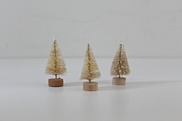 Natural Mini Bristle Trees