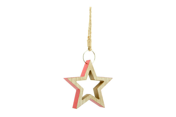 Nordic Wooden Cutout Star Decoration | Pop Roc Parties