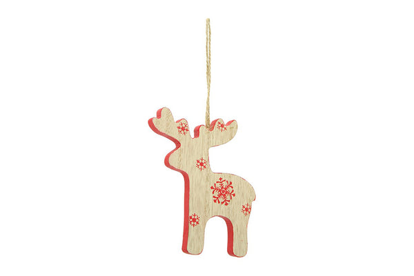Nordic Wooden Reindeer Decoration | Pop Roc Parties